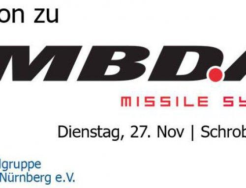 Exkursion zu MBDA nach Schrobenhausen